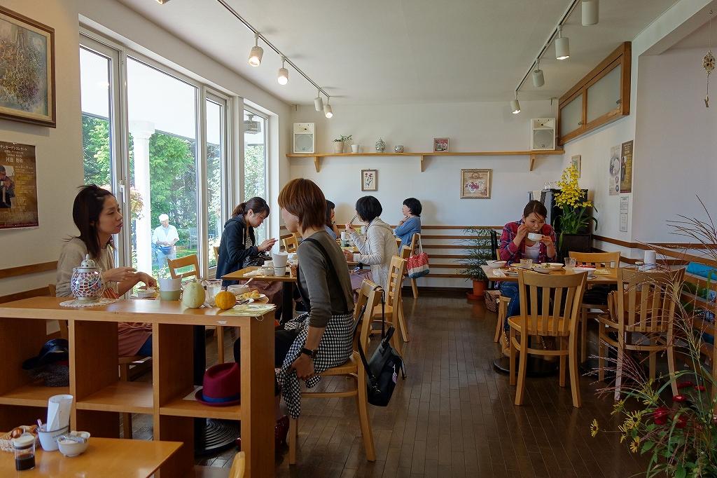 「カフェ ティーズガーデン」_f0138096_1615081.jpg