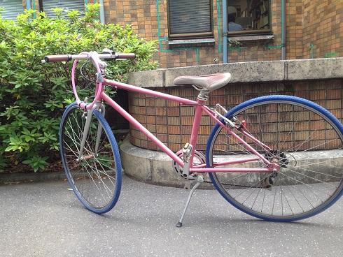 ピンクの自転車_b0207536_23142999.jpg