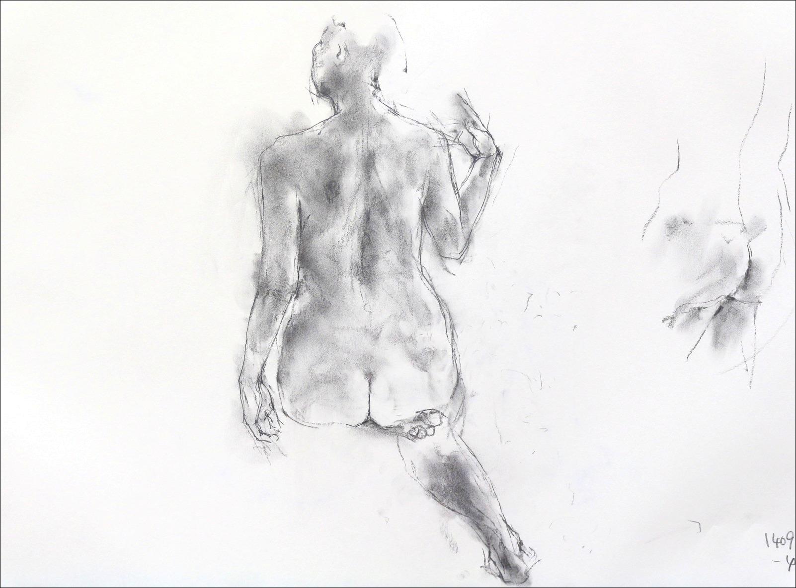 《裸婦素描 4 》_f0159856_7471335.jpg