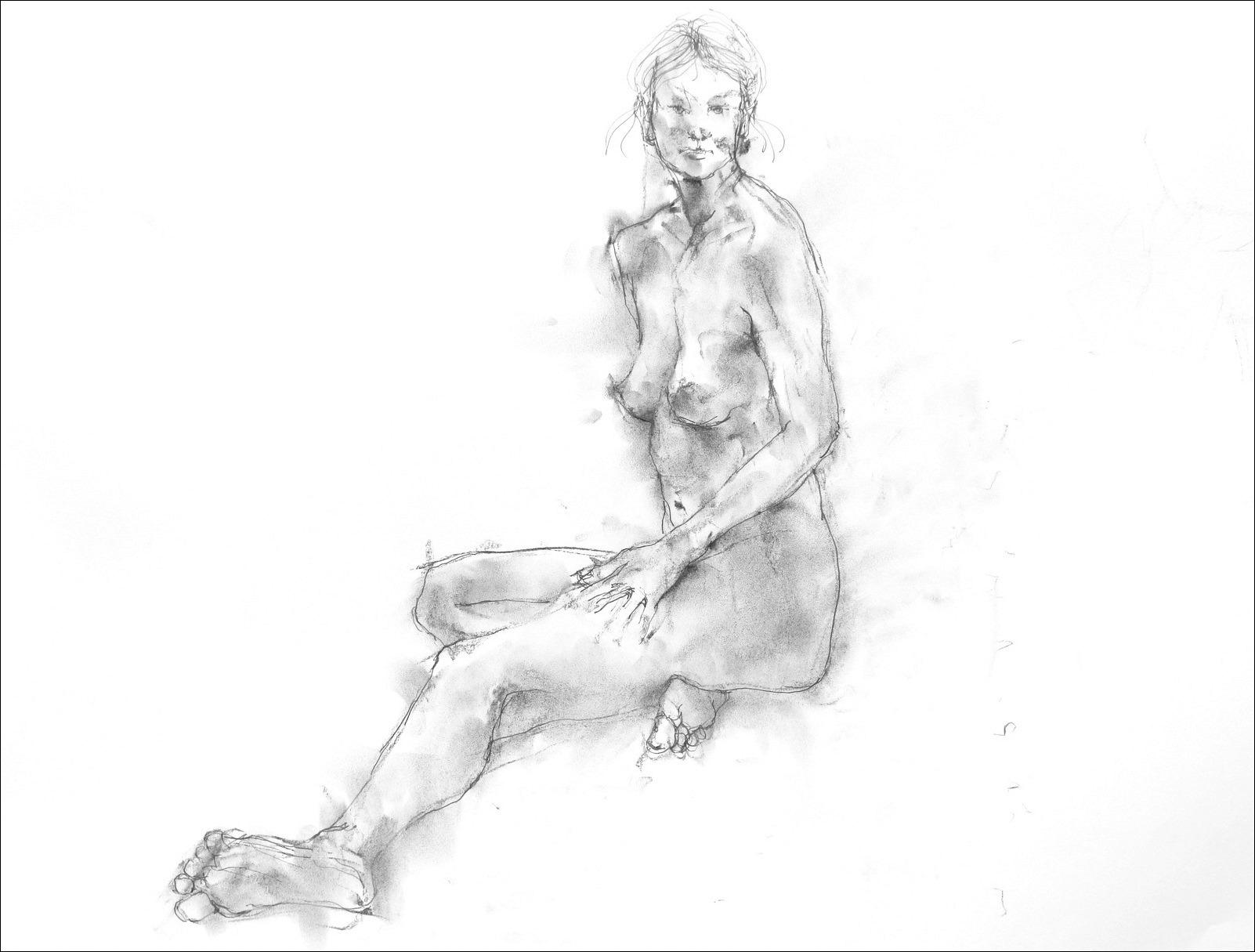 《裸婦素描 3 》_f0159856_7492673.jpg