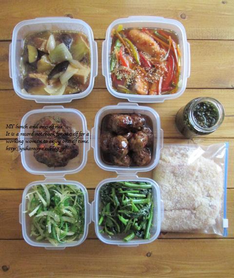 イエシゴトVol.77 今週の常備菜は珍しく魚メインで♪_e0274872_13522296.jpg