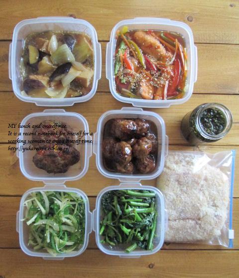 イエシゴトVol.77 今週の常備菜は珍しく魚メインで♪_e0274872_13523171.jpg