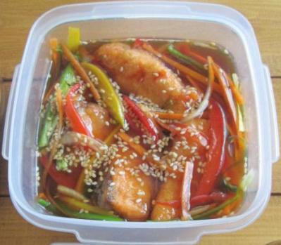 イエシゴトVol.77 今週の常備菜は珍しく魚メインで♪_e0274872_13554820.jpg