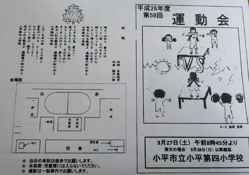 第59回小平第四小学校運動会_f0059673_1917177.jpg