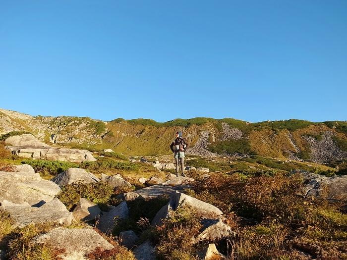 2014.9.20-22 野口五郎岳ー黒部五郎岳 GORO to GORO の旅 day3_b0219778_216517.jpg