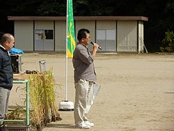 稲刈り体験(月光原小・西根小)_d0247484_13513779.jpg