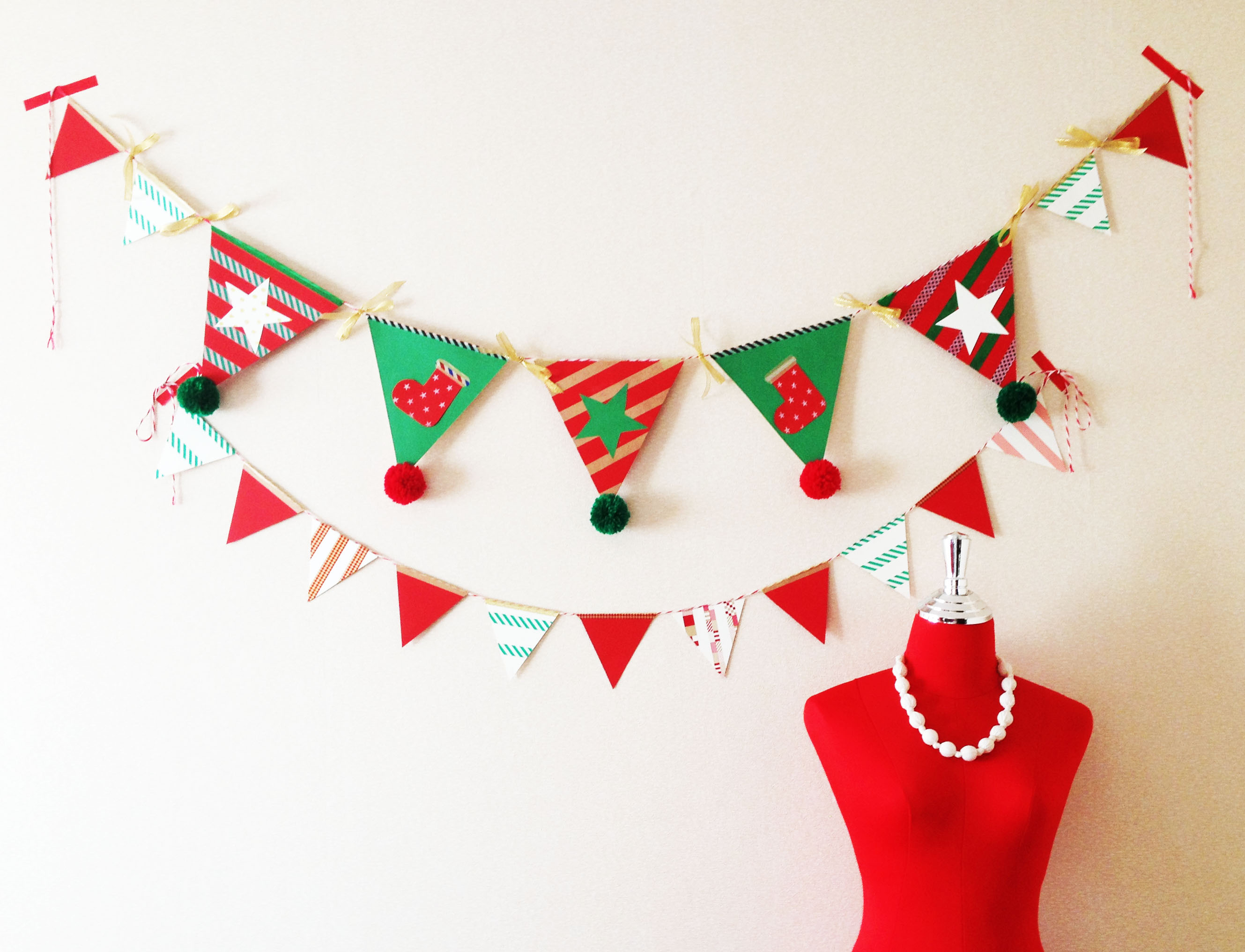 簡単 折り紙 サンタ 簡単 折り紙 : クリスマスパーティーもDIY ...