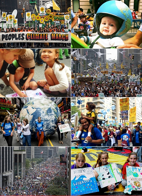 NYで史上最大の環境・気候デモ「ピープルズ・クライメイト・マーチ」People\'s Climate March_b0007805_1314362.jpg