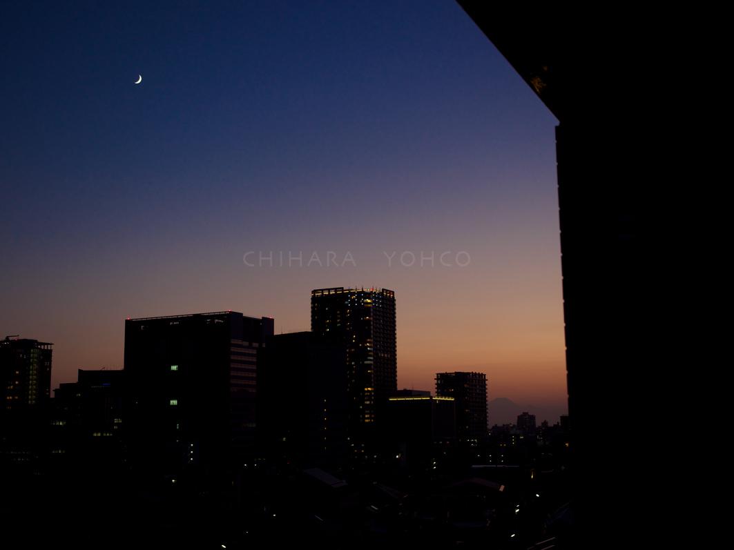 月と富士と金木犀_b0025511_18040470.jpg