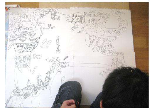空想の建築・小学生クラス_f0211514_2116533.jpg