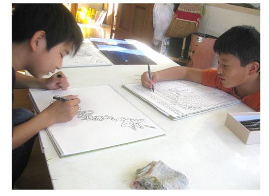 空想の建築・小学生クラス_f0211514_2212612.jpg