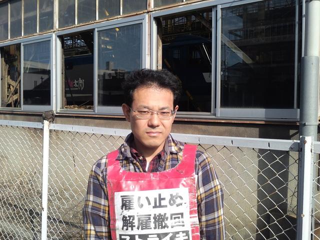 9月26日、JR貨物岡山機関区でビラまき_d0155415_191537.jpg