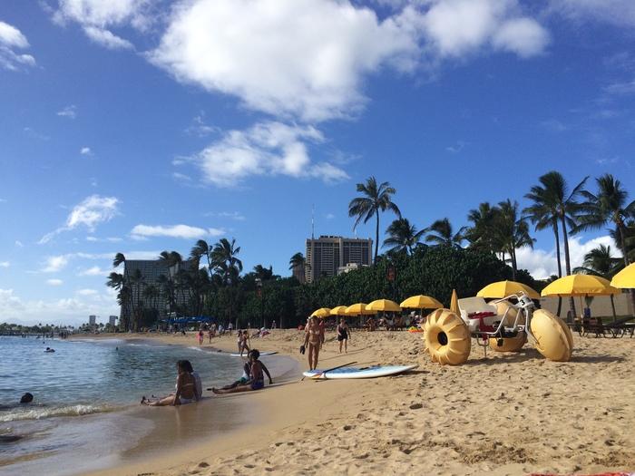 2014 9月 ハワイ (6)  みえた ブルーエンジェルスと 巨大なマイタイ_f0062122_18484387.jpg