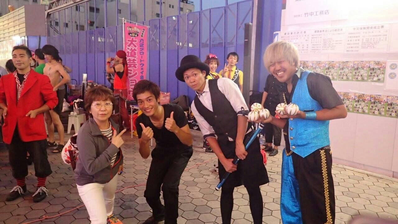 浅草 大道芸_a0163623_22333013.jpg