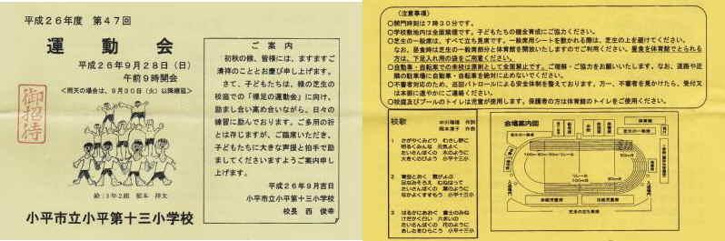 第47回小平第十三小学校運動会_f0059673_17122124.jpg