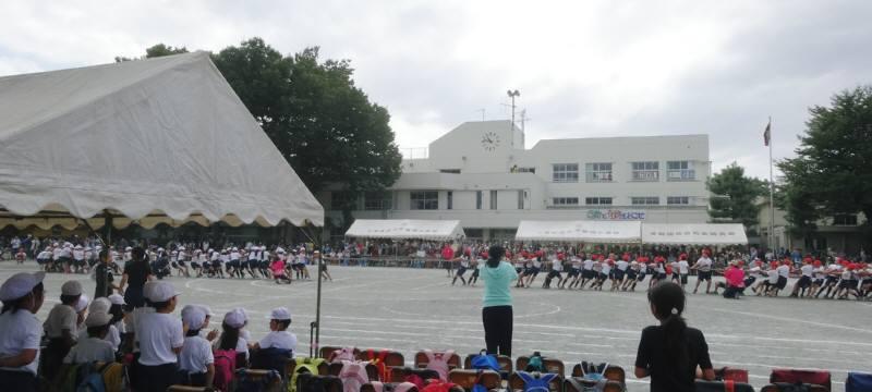 第59回小平第四小学校運動会_f0059673_1734546.jpg