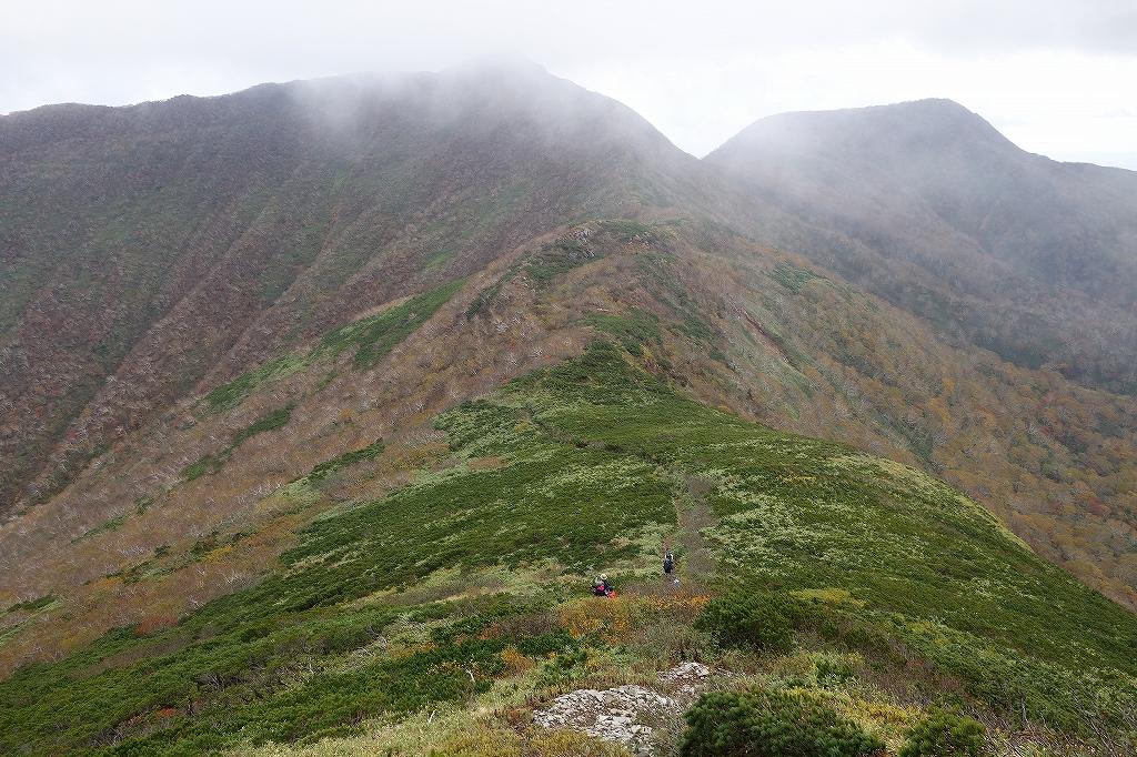 徳舜瞥山とホロホロ山、9月28日_f0138096_22351678.jpg