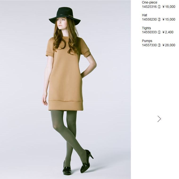 2014 LOUNIE Autumn Collection~カタログ編~_f0237698_10255169.jpg