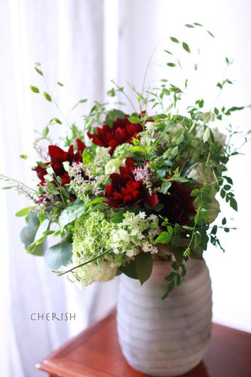 八重咲きのアナベル_b0208604_08135707.jpg
