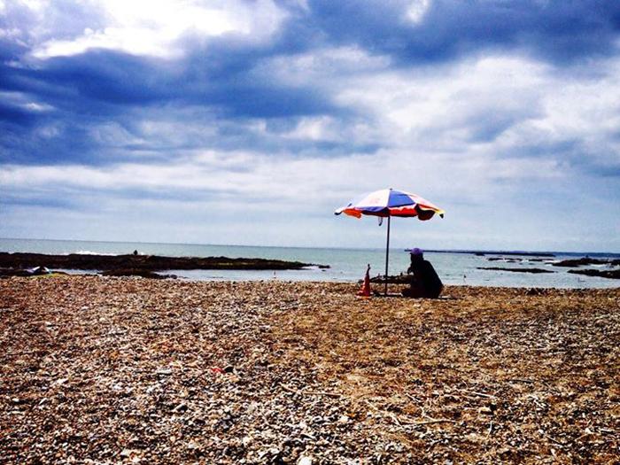 大洗海岸 / iPhone 4s_c0334533_22102342.jpg