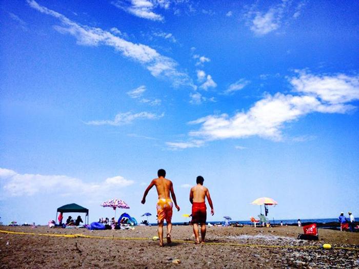 大洗海岸 / iPhone 4s_c0334533_22103548.jpg
