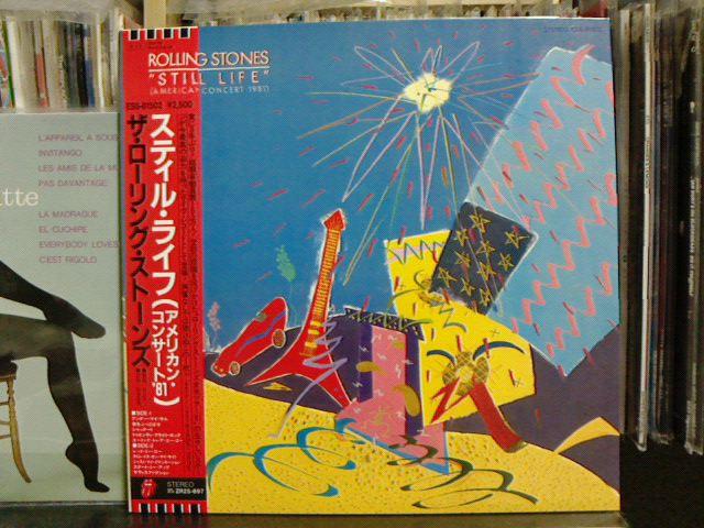 "\""Still Life\""(American Concert 1981) / The Rolling Stones_c0104445_23331555.jpg"