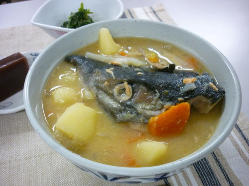 ~鮭の粗汁~_d0195052_10554345.jpg