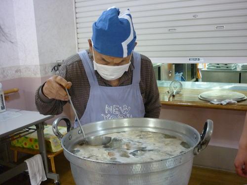 ~鮭の粗汁~_d0195052_11301875.jpg