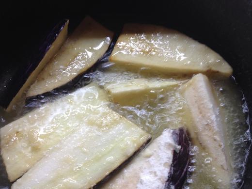 揚げ出し豆腐&なす_a0136671_2454111.jpg