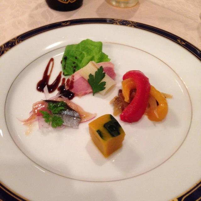 倉敷シーサイドホテルのフレンチレストラン「オンドール」にて充実したディナー~♪_a0004752_818851.jpg