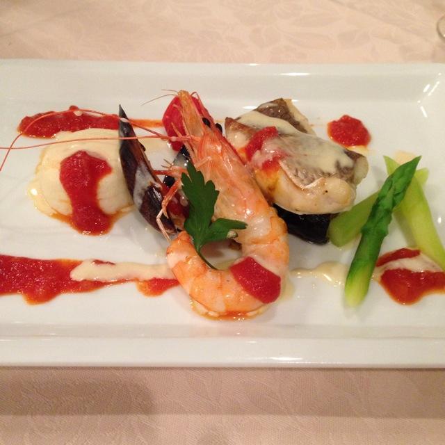 倉敷シーサイドホテルのフレンチレストラン「オンドール」にて充実したディナー~♪_a0004752_8195021.jpg