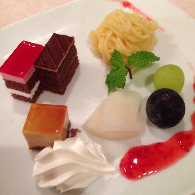 倉敷シーサイドホテルのフレンチレストラン「オンドール」にて充実したディナー~♪_a0004752_8202734.jpg