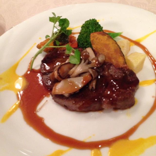 倉敷シーサイドホテルのフレンチレストラン「オンドール」にて充実したディナー~♪_a0004752_82031.jpg