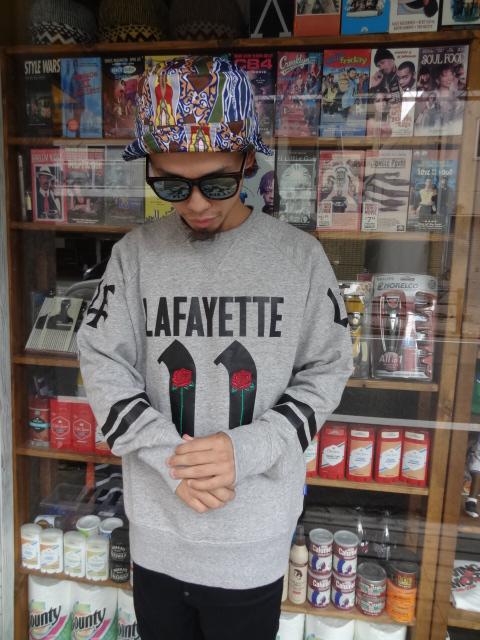 Lafayette FOOTBALL JERSEY CUT SEW!!_a0221253_19201341.jpg