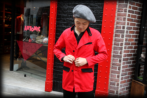 "RALEIGH ""BUILT THE CITY WITH ROCK'N'ROLL"" TAILORED JACKET 入荷しました。_e0325662_18341030.jpg"