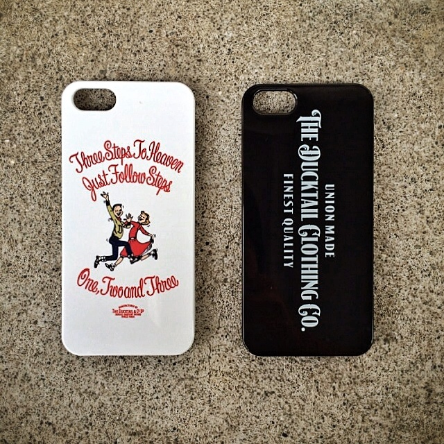 DUCKTAIL CLOTHING iPhone CASE入荷_c0187573_20295735.jpg