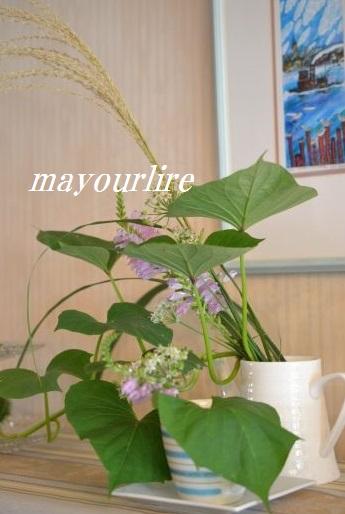 9月  テーブルコーディネート マユールライラ 海吉教室_d0169179_16183892.jpg