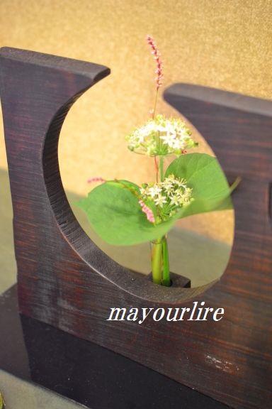 9月  テーブルコーディネート マユールライラ 海吉教室_d0169179_1692348.jpg