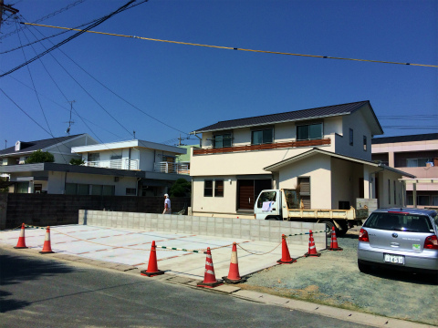 上新屋 Mさんの家 ★外構工事_d0205883_1252074.jpg
