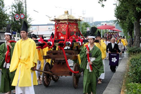 ずいき祭 北野天満宮_e0048413_17552530.jpg