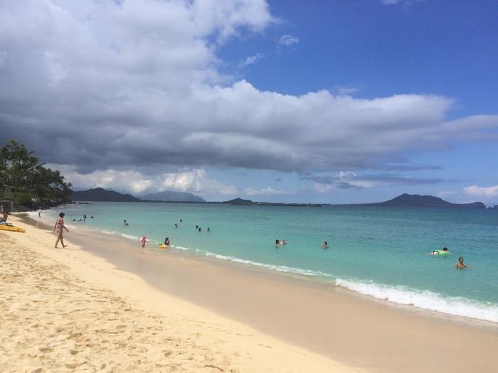 2014 9月 ハワイ (10)  驚愕のテイクアウト@Me\'s B-B-Q でビーチランチ_f0062122_1634113.jpg