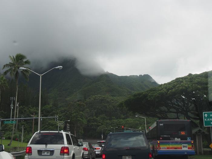 2014 9月 ハワイ (10)  驚愕のテイクアウト@Me\'s B-B-Q でビーチランチ_f0062122_16375687.jpg