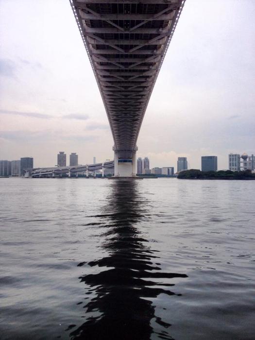 港区海岸(レインボーブリッジ)/ iPhone 4s_c0334533_14263160.jpg