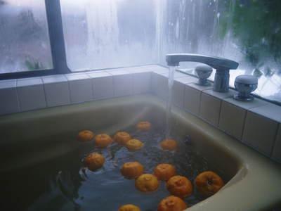 香り高き柚子(ゆず) 今年は柚子の裏年?でも、匠は今年もきちんと育てあげるんです_a0254656_19403195.jpg