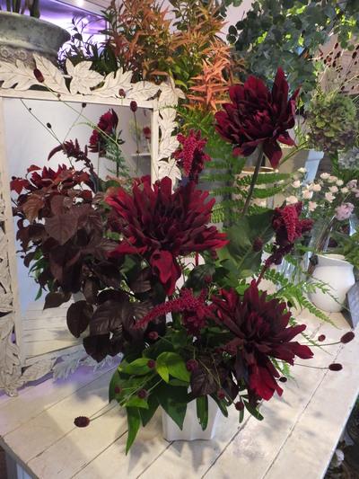 オークリーフ花の教室(甘艸さんと大草さんの作品)_f0049672_18235248.jpg