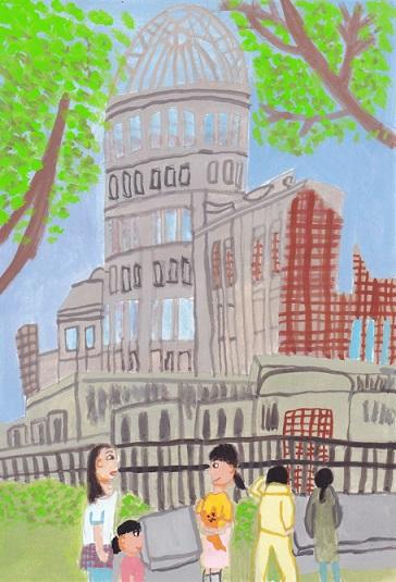 広島・山口旅絵日記(1)_d0259392_15502693.jpg