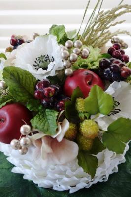 喜寿のお祝いケーキ_c0157501_16133252.jpg