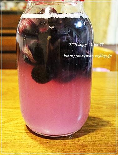 塩つくね弁当と巨峰酵母♪_f0348032_18574527.jpg