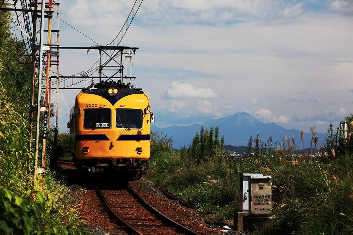一畑電車 大山と_a0294534_20151691.jpg