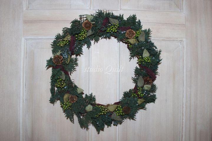 クリスマスリース♪_f0295063_16394923.jpg